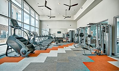 Fitness Weight Room, Encore at West Fork, 1
