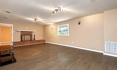 Living Room, 4811 Rowan Rd, 1