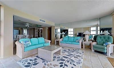 Living Room, 1290 Gulf Blvd 1808, 1