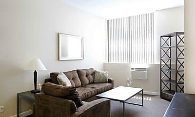 Living Room, University Village Hayward, 1