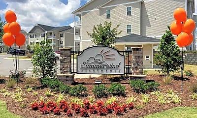 Community Signage, Summerwind Apartments, 1