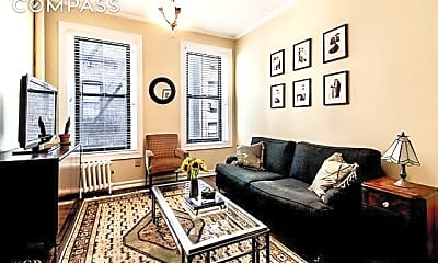 Living Room, 131 Thompson St 3-C, 1