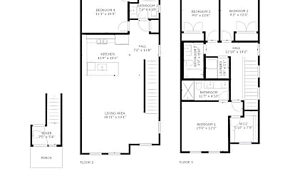 Bedroom, 3955 N Vancouver Ave, 2
