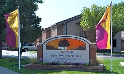 Community Signage, Treepoint Meadows, 2