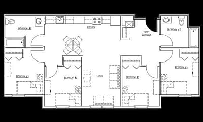 Bayside Village Apartments, 2