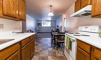 Kitchen, Richfield Apartments, 0