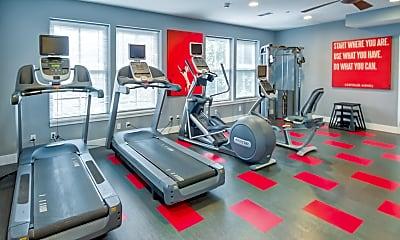 Fitness Weight Room, The Verano, 2