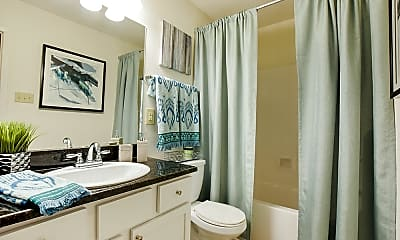 Bathroom, Audubon Gates, 1