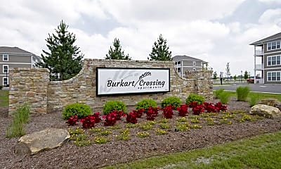 Community Signage, Burkart Crossing Apartments, 2