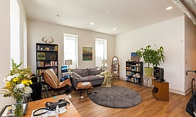 Living Room, 1618 Mifflin St 1B, 1