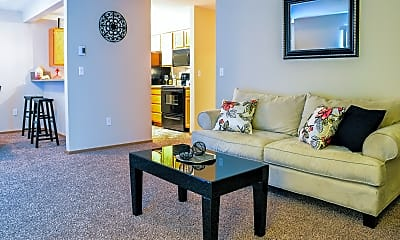 Living Room, Ashton Apartments, 0