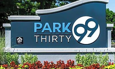Community Signage, Park Thirty99, 1
