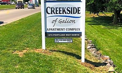 Community Signage, 475 Portland Way N, 1