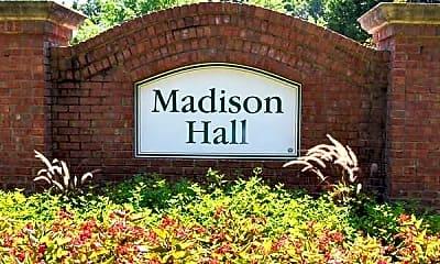 Community Signage, Madison Hall, 2