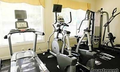 Fitness Weight Room, The Crossings at Summerland, 2