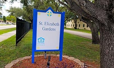 Saint Elizabeth Gardens, 1
