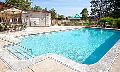Pool, Delta Square Apartments, 1