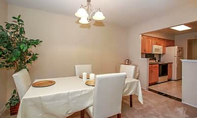Dining Room, 7101 Admiralty Ln, 0