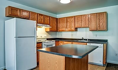 Kitchen, Ridgeview Heights, 1