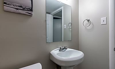 Bathroom, Room for Rent -  10 minutes to bus 15, 0