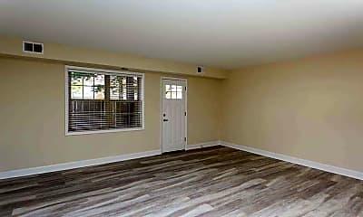Living Room, Stevens Walk Apartments, 1