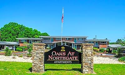 Community Signage, The Oaks at Northgate, 0