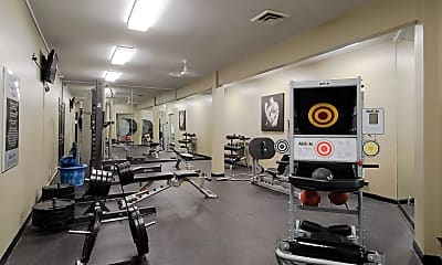 Fitness Weight Room, South Wind, 2