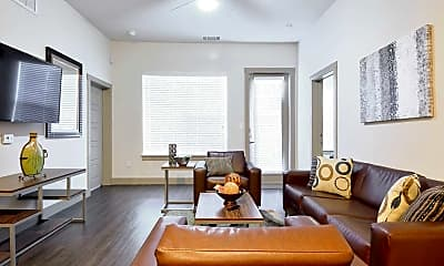 Living Room, Oso Verde Student Apartments, 1