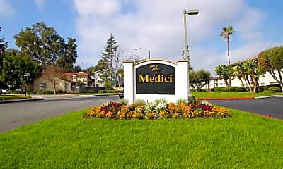 Community Signage, The Medici At South Hills, 2