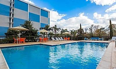 Pool, Memorial Towers, 0