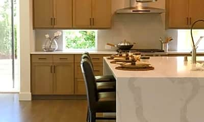 Kitchen, Park Central Townhomes, 1