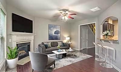 Living Room, 5885 Weddington Dr, 1