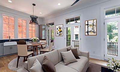 Living Room, 16 Catfiddle St, 1