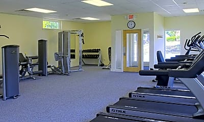 Fitness Weight Room, Allison Apartments, 2