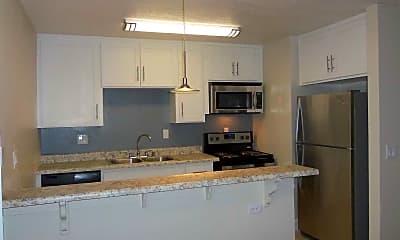 Kitchen, Willow Creek Apartments, 2
