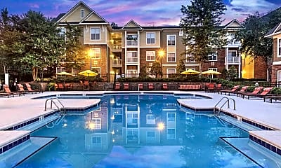 Pool, Lenox at Patterson Place, 0