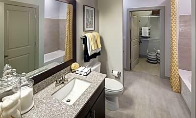 Bathroom, The Civic at Frisco Square, 1