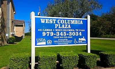 West Columbia Plaza Apartments, 1