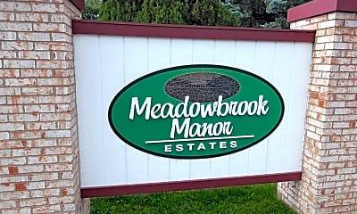 Community Signage, Meadowbrook Manor, 0