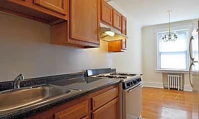 Kitchen, Bala Apartments, 1