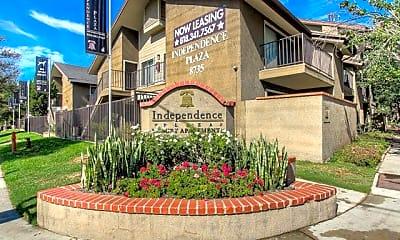 Community Signage, Independence Plaza, 1