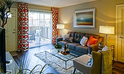 Living Room, Park Pointe, 1