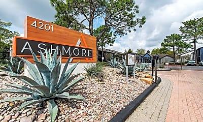 Community Signage, Ashmore Apartments, 0
