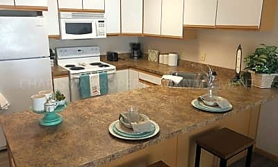 Kitchen, 906 N Western Ave  and 911 N Oaks Ave, 1