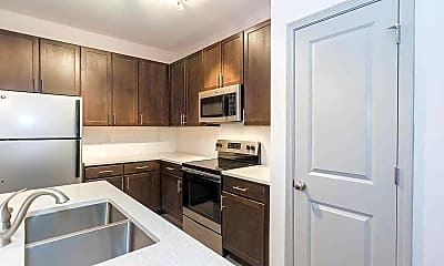 Kitchen, 1701 North Apartments, 1