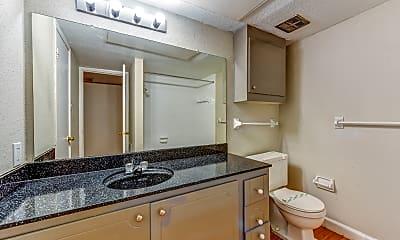 Bathroom, Carrington Court Apartments, 2