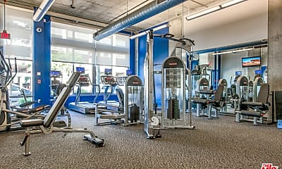 Fitness Weight Room, 1100 S Hope St 802, 2
