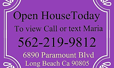 Bedroom, 6890 Paramount Blvd, 2