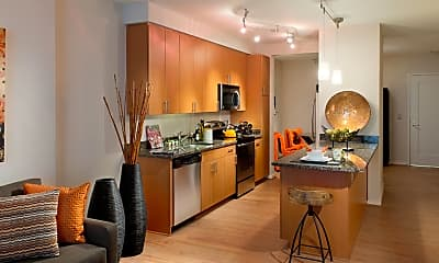 Kitchen, Solaire Silver Spring, 0