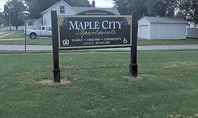 Maple City Apartments, 1